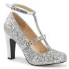 QUEEN-01 Silver Glitter